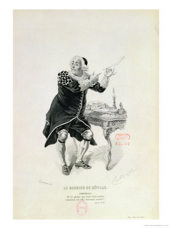 Dr Bartolo in Barber of Seville (Rossini) image