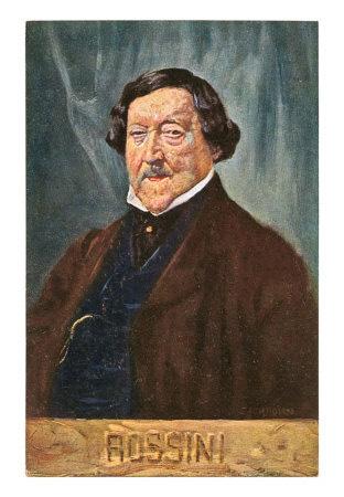 Gioacchino Antonio Rossini poster