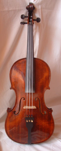 3-stringed viola used in Slovakian, Hungarian and Romanian folk music bands (image)