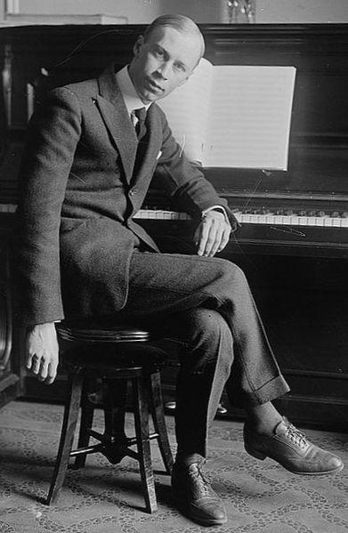 Sergei Prokofiev, 1918 (image)