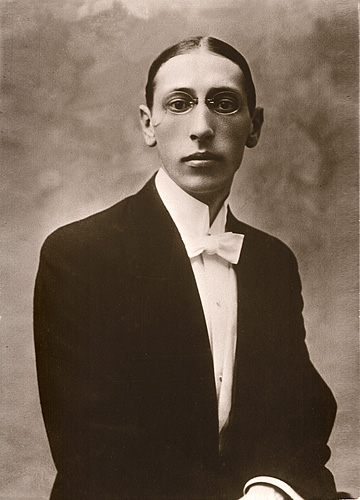 Igor Stravinsky, circa 1903 (image)