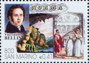 Norma, an opera by Vincenzo Bellini (image)