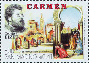 Carmen, an opera by Georges Bizet (image)