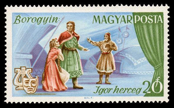 Prince Igor, an opera by Alexander Borodin (image)