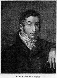Carl Maria von Weber image