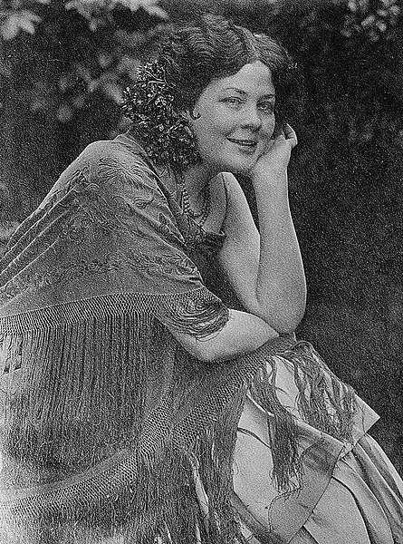 Kathleen Howard as Carmen (1913) (image)'