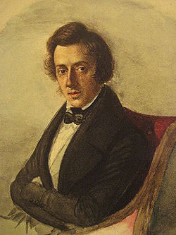 Frederic Chopin in 1835 (image)