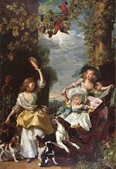The Daughters of King George III (1785) by John Singleton Copley (image)