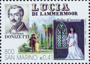 Lucia di Lammermoor, an opera by Gaetano Donizetti (image)
