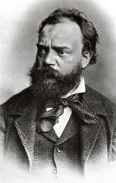 Antonin Dvorak, 1886 (image)