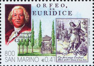 Orpheus and Eurydice, an opera by Christoph Willibald Gluck (image)