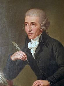 Joseph Haydn, painting by Ludwig Guttenbrunn (image)