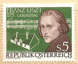 Birthplace of Liszt, Raiding, Austria (image)