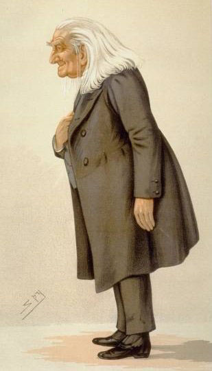 Franz Liszt caricature in Vanity Fair, 1856