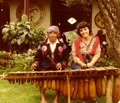 Marimba in highland Guatemala (image)