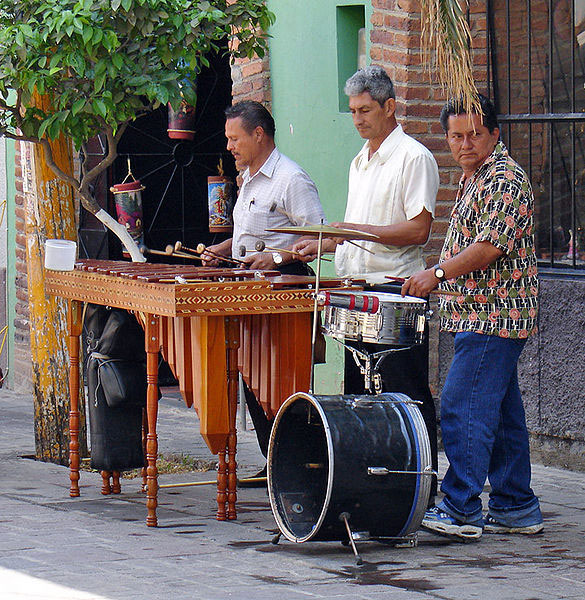 Popular marimba, Mexico (image)