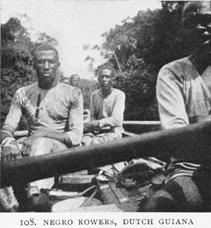 Negro Rowers, Guinea (image)