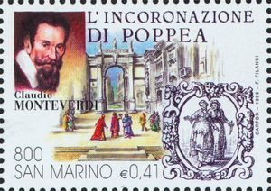 The Coronation of Poppea, an opera by Claudio Monteverdi (image)