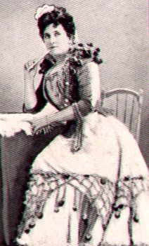 Nelly Melba as Rosina in The Barber of Seville (image)
