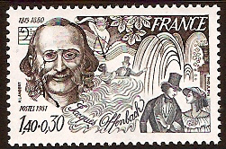 Jacques Offenbach stamp - France, 1981 (image)
