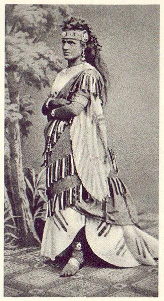 Teresa Stolz in Verdi's Aida, 1872 (image)