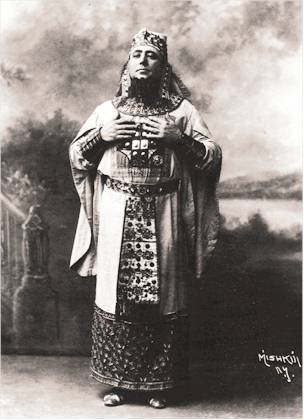 Jose Mardones as Ramfis in Verdi's Aida, 1901 production (image)