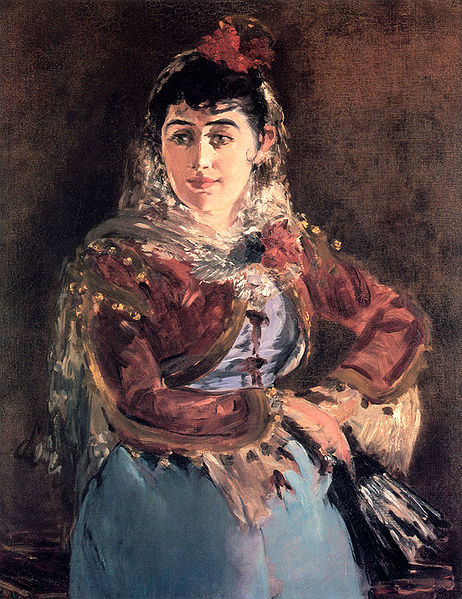 Emile Ambre as Carmen in Bizet's opera, Carmen (image)