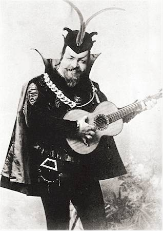 Edouard de Reske as Mephistopheles in Gounod's Faust (image)