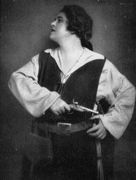 Lotte Lehmann as Leonore in Beethoven's Fidelio (image)