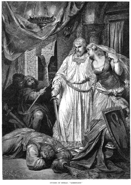 Wagner's Lohengrin - London premiere, 1875 (image)