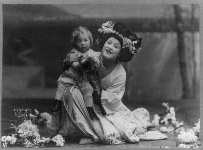 Geraldine Farrar in Puccini's Madame Butterfly (image)
