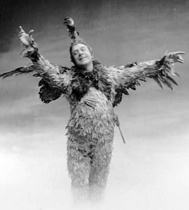 Lucien Fugere as Papageno in Mozart's The Magic Flute (image)