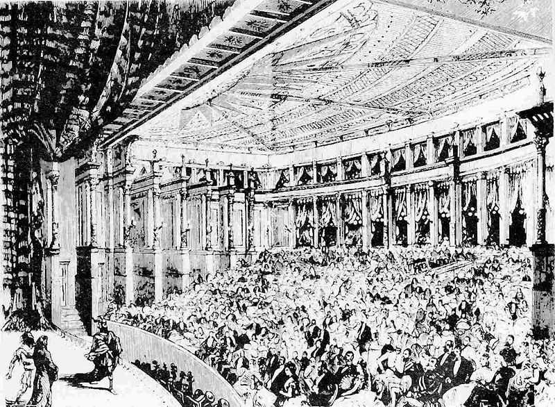 First performance of Wagner's Rheingold, Bayreuth, 1876 (image)