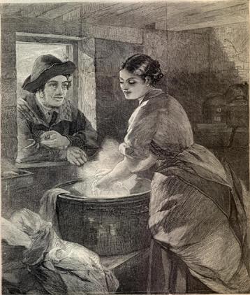 Rustic Courtship (image)