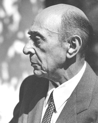 Arnold Schoenberg 1948 photo