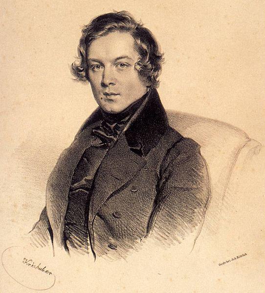 Robert Schumann, 1839 (image)