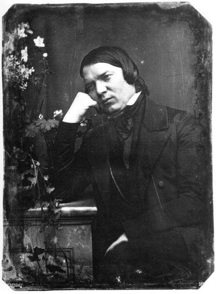 Robert Schumann, 1850 (image)