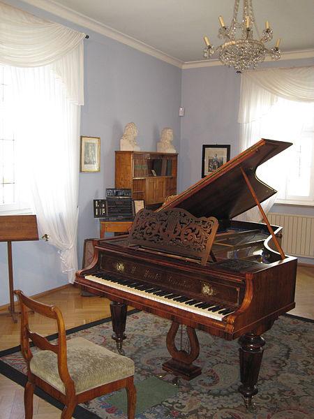 Robert Schumann music room, Zwickau (image)