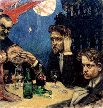 Sibelius in 1894 (image)