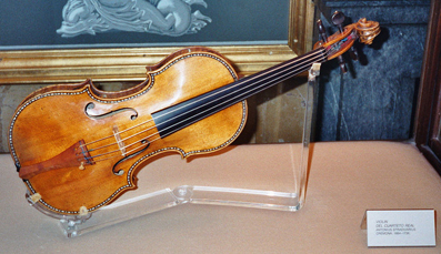 Stradivarius violin, Madrid, Spain (image)