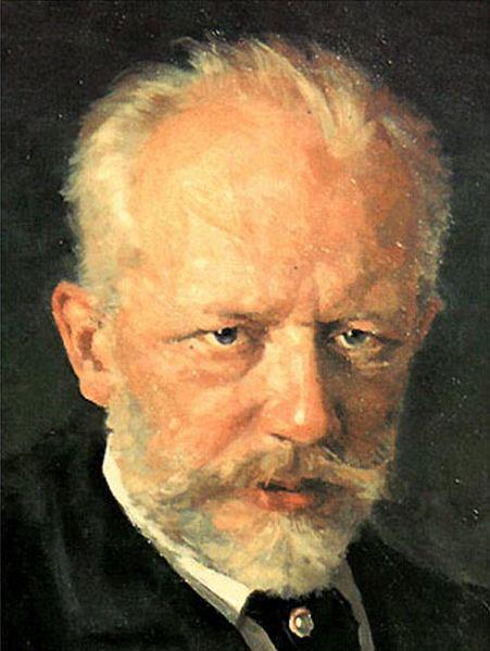 Tchaikovsky - portrait by N. D. Kuznetsov (1893) (image)