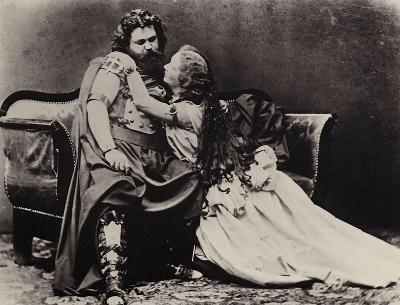 Tristan and Isolde (Wagner) world premiere, 1865 (image)