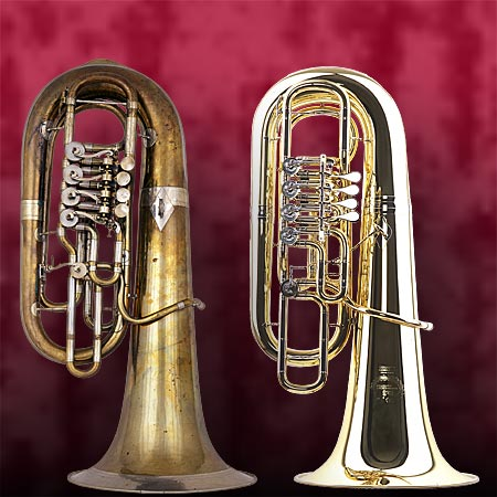 Two F tubas (image)