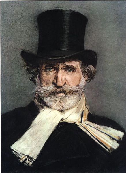 Giuseppe Verdi, 1886 - painting by Boldini (image)