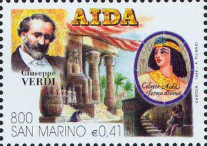 Aida, an opera by Giuseppe Verdi (image)