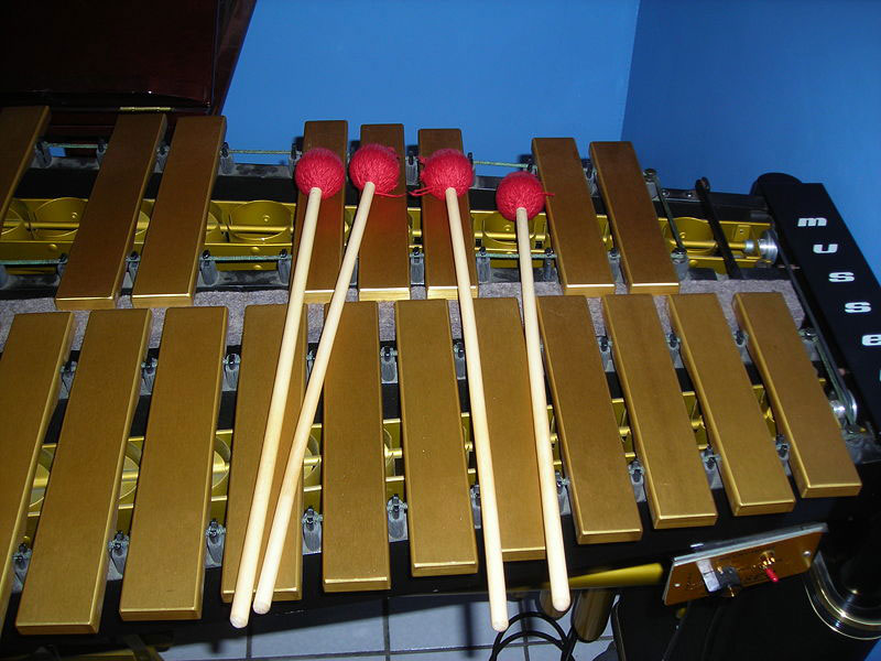 Vibraphone mallets (image)