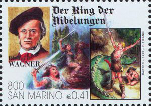 The Ring of the Nibelung, the opera cycle by Richard Wagner (image)
