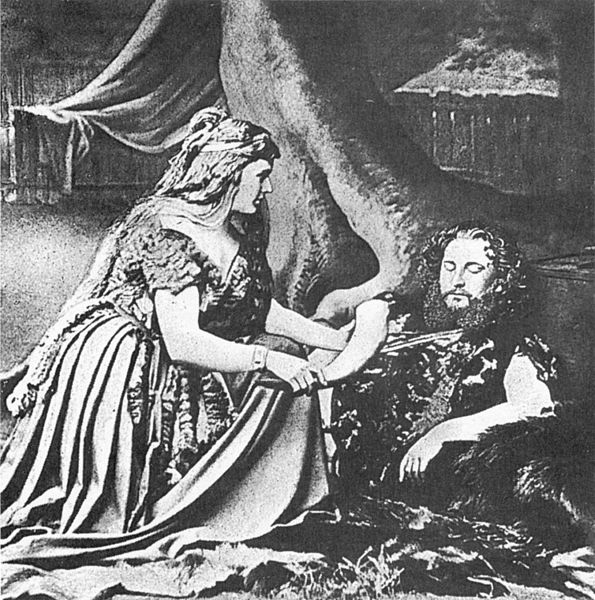 Wagner's Walkure (Valkyrie) premiere, 1870 (image)