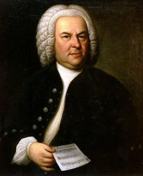 Bach (painting by E G Haussmann) (image)