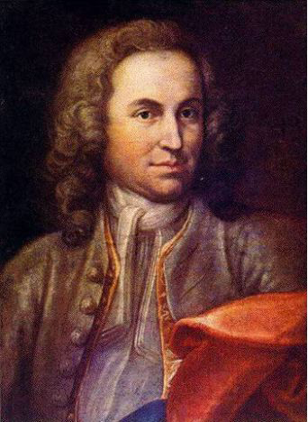 Young Johann Sebastian Bach (image)